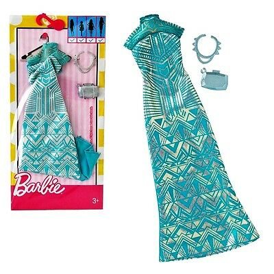 NEW! 2017 BARBIE COMPLETE LOOK FASHION PACK DRESS For all Body Types CURVY TALL