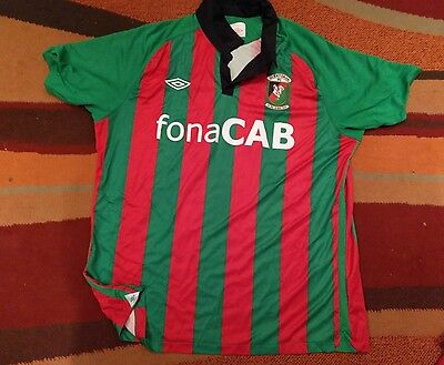 glentoran football shirt top mens xl northern ireland
