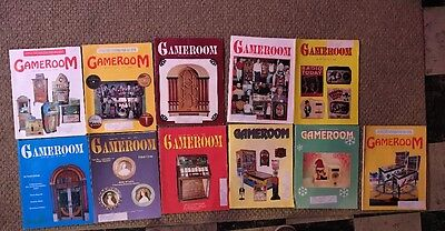 Gameroom Magazines: 1991, 11 Issues All Complete Great Shape