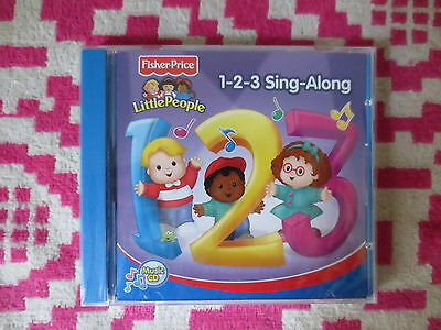 NEW Fisher Price Little People 1-2-3 Sing-Along Music CD Kids