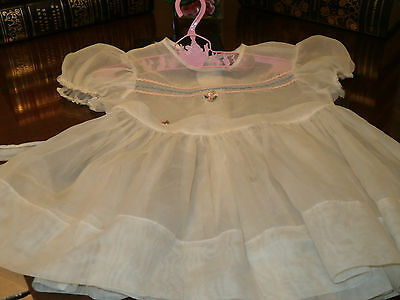 1959 Ideal Toys Original Pinafore For Patti Play Pal Doll Sold for restorations