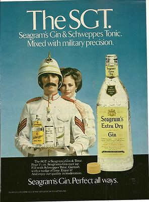 Seagram's Extra Dry Gin 1979  Magazine - Print Ad