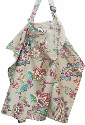 Baby Mum Breast Feeding Nursing Poncho Cover Up Colorful,Grey