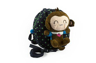 Baby Rae Toddler Kid Walking Safety Leash Backpack with Detachable Cute Monkey 1