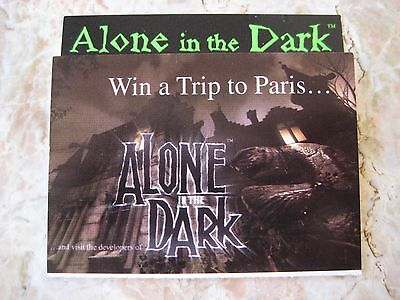 Alone in the Dark The New Nightmare E3 Game Promo RARE PlayStation PS2 Dreamcast