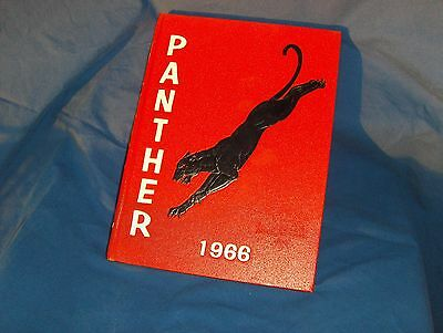 1966 Hillcrest High School, Dallas, TX Yearbook, Panther, GREAT Condition!