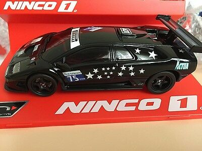 55028 Ninco N - Digital Lamborghini Diablo Gtr Actua Slot Car 1:32