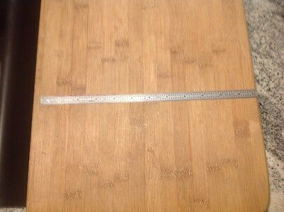 Vintage Craftsman 12 Inch Machinist Ruler 9-40992. Free Ship     Lufkin Starrett