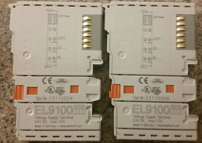 Beckhoff El9100 Unused Qty. 2