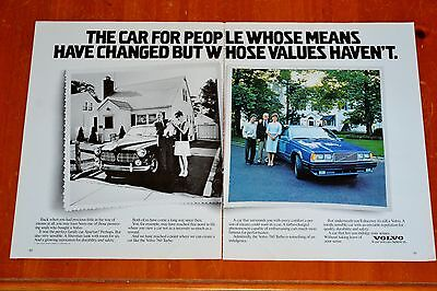 Clever 1988 Volvo 760 Turbo With Family Now & In 1960S Ad - Vintage 122 Amazon