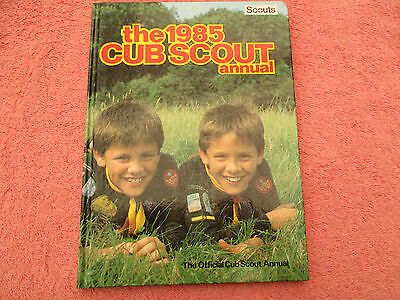 the 1985 cub scout annual the official cub scout annual h/b