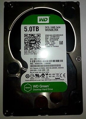 Western Digital Green 5tb Internal Hard Drive