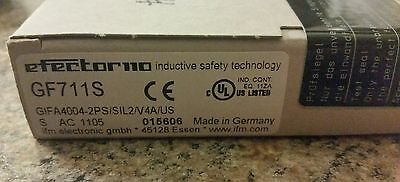 Efector GF711S Fail-Safe Inductive Sensor, 24 VDC  NEW in SEALED box