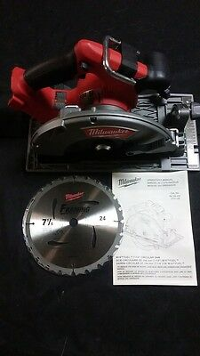 """NEW Milwaukee 2731-20 FUEL Circular Saw 7 1/2"""" 18v M18 Red Lithium Cordless"""