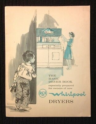 Vintage~Whirlpool~The Basic Dryer Book For Whirlpool Dryers
