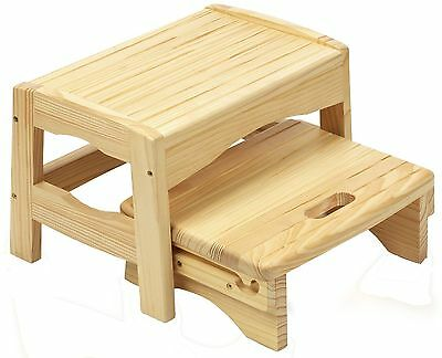 Safety 1st Wooden 2 Step Stool. From the Official Argos Shop on ebay