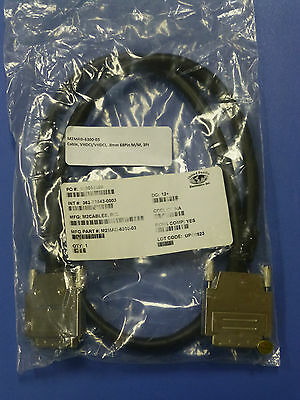 New - M2Cables VHDCI Male to VHDCI Male Cable, 68-pin, 3ft