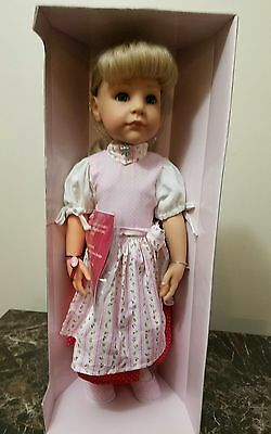 """Gotz Bavarian Hannah Doll Handcrafted  in Germany 19"""" tall New in Box"""