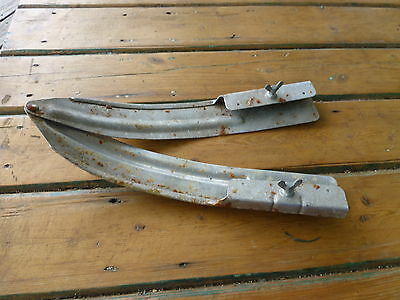 VINTAGE 50s Aluminium ski tip cross country telemark snow collectable museum