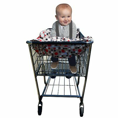 2 in 1 Shopping Cart and High Chair Cover to Keep Your Baby or Child Safe and -