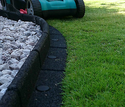 Rubber Lawn Edge Garden Border Grass Edging Fence Wall Driveway Path