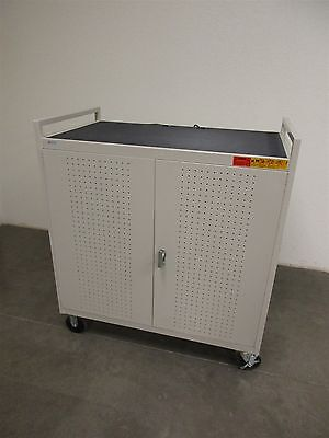 Bretford Welded Mobile Laptop Storage Cart 30 (LAP30EBA-GM)