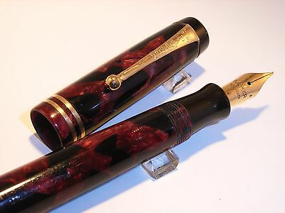 stylo plume or PARKER  DUOFOLD - fountain pen parker duofold