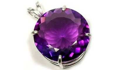 Antique Handcrafted 28ct Scotland Amethyst British Crown Jewels Edward Confessor