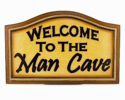 Ram R179 Welcome To The Man Cave Pub Sign 3D Art FREE Shipping
