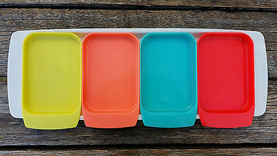 Retro Style Hors D'oeuvres Nibbles Tray Set