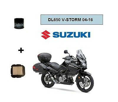 Pack Filtre à Air /Filtre à Huile Adaptable Suzuki DL650 V-storm  2004-2016