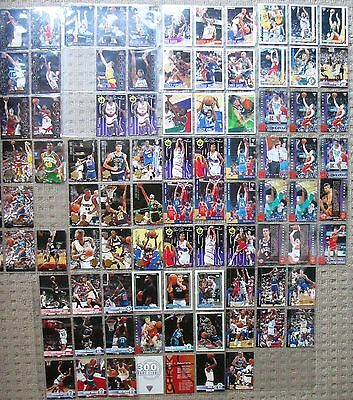 94 Basketball trading cards - Mix lot