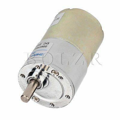 DC 24V 100RPM High Torque Electric Gear Reduction Motor For Testing Equipment