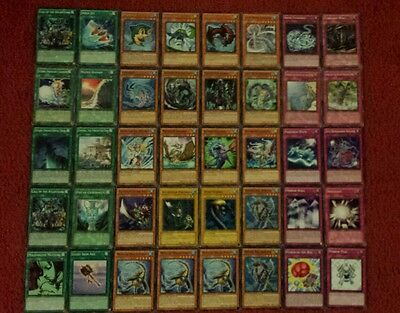 Yu-Gi-Oh Sea Serpent Deck - 40 cards complete BONUS 5 cards