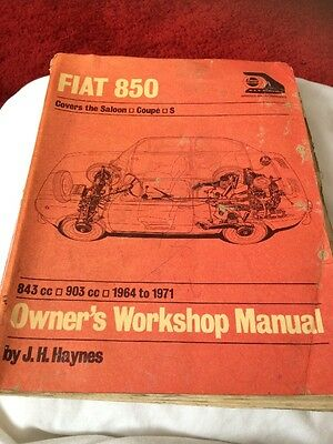 Castrol Fiat 850 Owners Workshop Manual