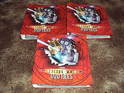 Doctor Who - DVD Files Collection - Magazine Issues 1-81 in Binders (no DVDs)