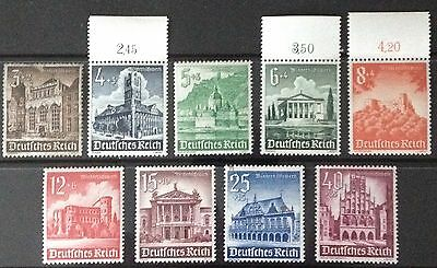 Germany Third Reich 1940 Winter Relief: Buildings set MNH