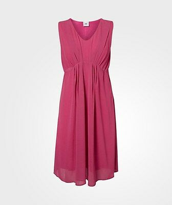 Mamalicious Maternity & Nursing Pink 'willa' Cocktail Dress All Sizes Bnwt £45