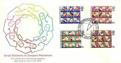 Great Britain First Day Cover 1979 Europen Parliament