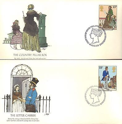 Great Britain First Day Cover 1979 Sir Rowland Hill On 4 Covers