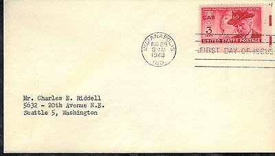 Usa First Day Cover 1949 Grand Army Of The Republic Issue