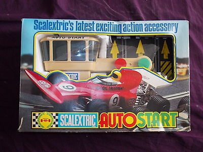 Auto Start Scalextric Triang Vintage Boite Complet C275 Circuit Routier