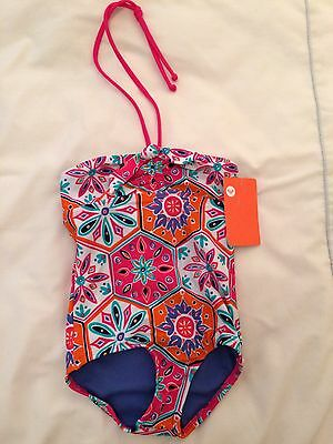 Brand New- Roxy Girl - Children's Bandeau Swimming Costume - Size 3