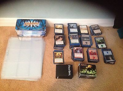 mtg collection 530 Cards Including 27 Rares + Lands