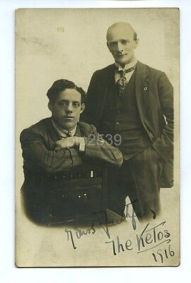 Photo Postcard Of The Ketos - Entertainers - Signed 1916