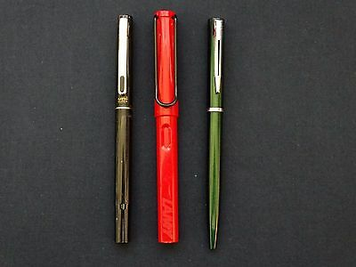LOT PENS WATERMAN ,LAMY ,UNI SUPER 3pcs pens