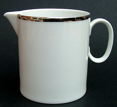 Thomas Medallion 4mm Wide Platinum Band 798 Pattern Milk or Cream Jug in VGC