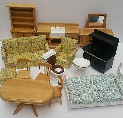 Lot of Dolls House Furniture