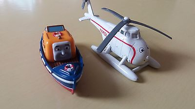 Thomas Tank Engine Trains take n play takealong Harold helicopter Captain boat