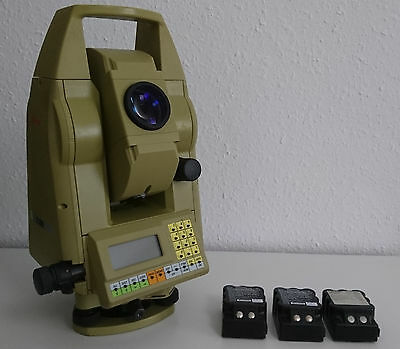 Leica TC805 Total Station, GKL23 Charger, Wild Tripod. Tachymeter Totalstation.